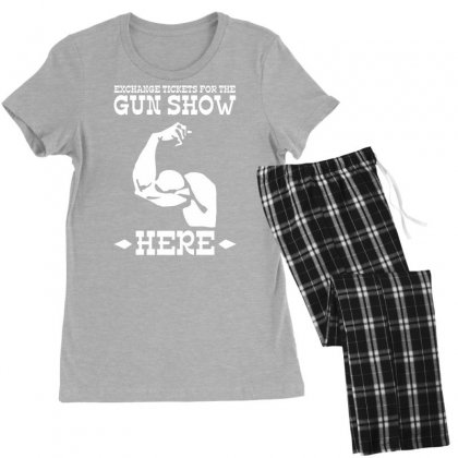 The Gun Show Women's Pajamas Set Designed By Tonyhaddearts