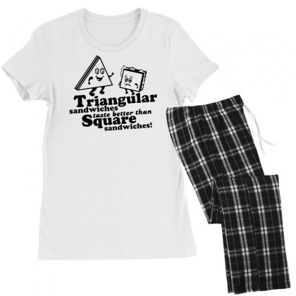 Triangular Sandwiches Women's Pajamas Set Designed By Tonyhaddearts