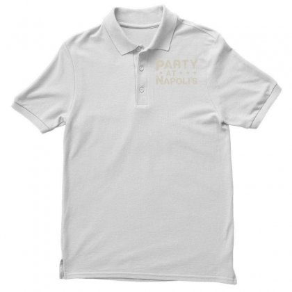Party At Napolis Men's Polo Shirt Designed By Vr46