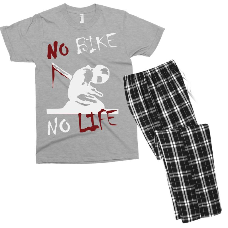 No Bike No Life Men's T-shirt Pajama Set | Artistshot