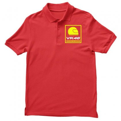 Vr46 Riders Academy Men's Polo Shirt Designed By Vr46