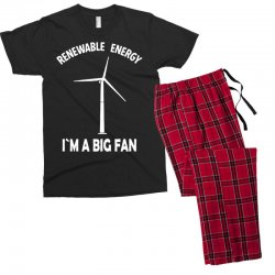 renewable energy Men's T-shirt Pajama Set | Artistshot