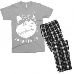 thug cat Men's T-shirt Pajama Set | Artistshot