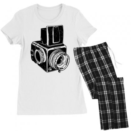 Hasselblad Vintage Camera Women's Pajamas Set Designed By Tonyhaddearts