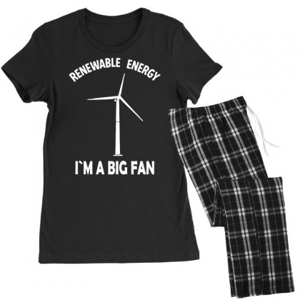 Renewable Energy Women's Pajamas Set Designed By Tonyhaddearts