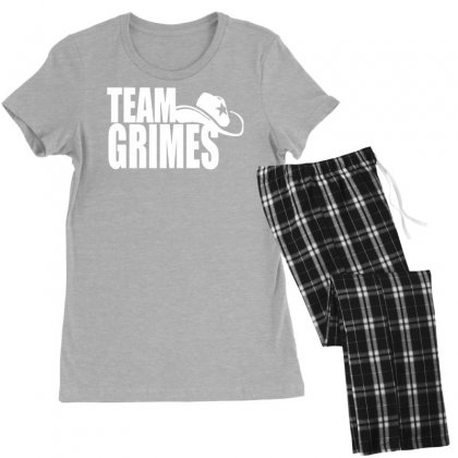 Team Grimes Walking Dead Women's Pajamas Set Designed By Tonyhaddearts