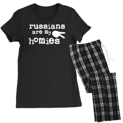 Russians Are My Homies Women's Pajamas Set Designed By Tonyhaddearts