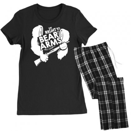 The Right To Bear Arms Women's Pajamas Set Designed By Tonyhaddearts