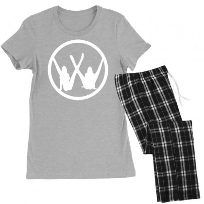 Vw Strip Logo Women's Pajamas Set Designed By Tonyhaddearts