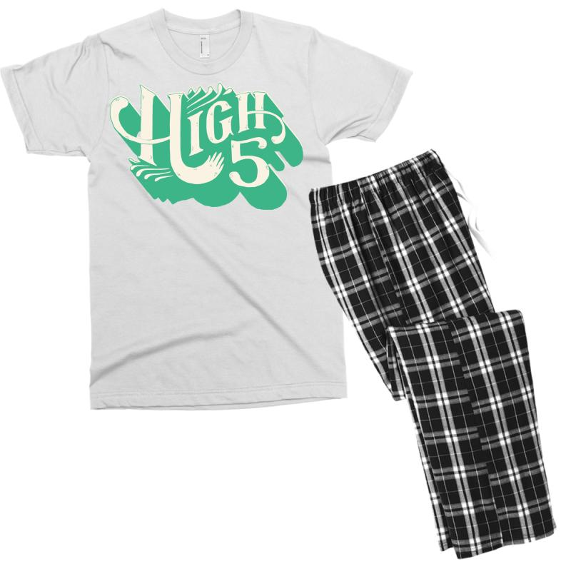 High 5 Men's T-shirt Pajama Set | Artistshot