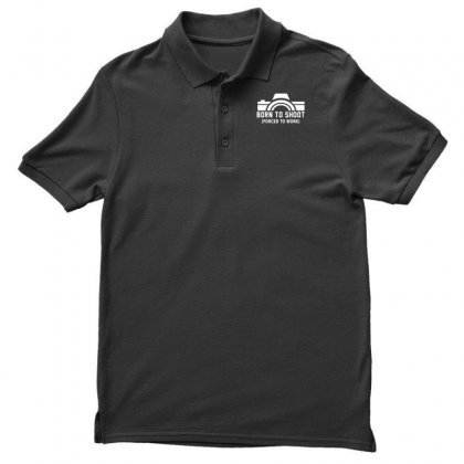 Born To Shoot Forced To Work Polo Shirt