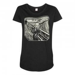 the scream Maternity Scoop Neck T-shirt | Artistshot