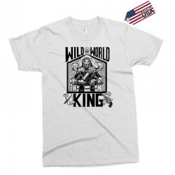 Wild World King Exclusive T-shirt | Artistshot