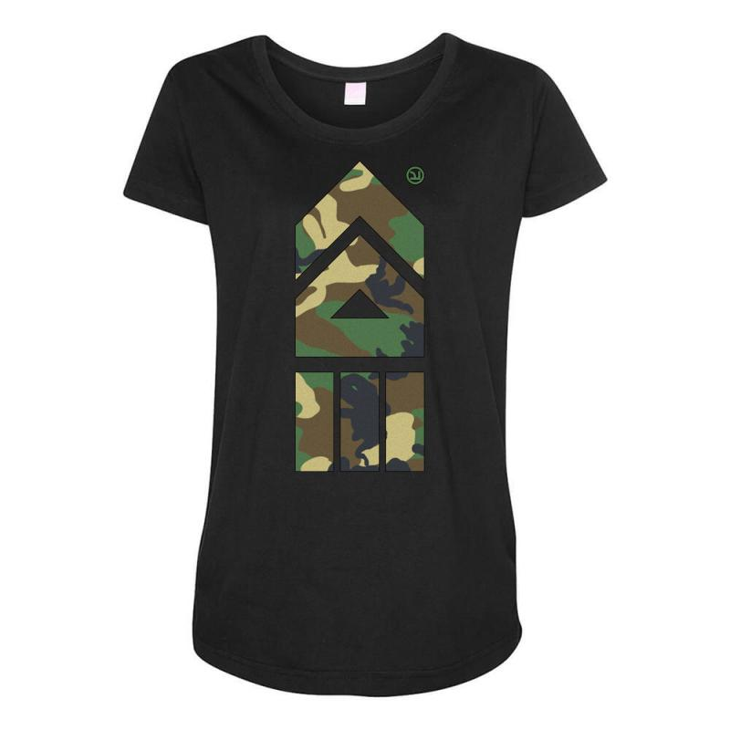 b12b8ba038ca7 Custom Splatoon Takoroka Camo Maternity Scoop Neck T-shirt By Mdk ...