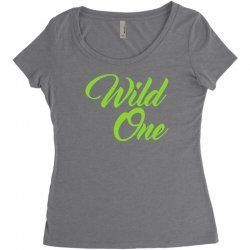 Wild One Women's Triblend Scoop T-shirt | Artistshot