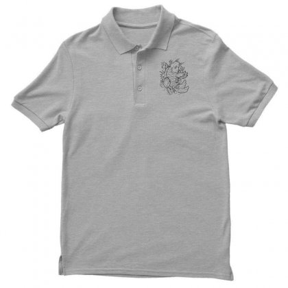 Goldfish Of Heaven Men's Polo Shirt Designed By Specstore