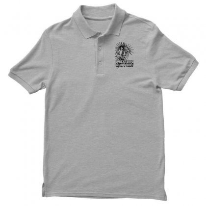 Wrestling With Words Men's Polo Shirt Designed By Specstore