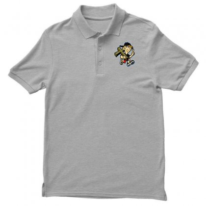 Hipster Easter Men's Polo Shirt Designed By Specstore