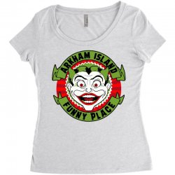 funny place Women's Triblend Scoop T-shirt | Artistshot