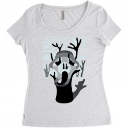 the tree's scream Women's Triblend Scoop T-shirt | Artistshot