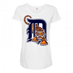 detroit tigers sports baseball Maternity Scoop Neck T-shirt | Artistshot