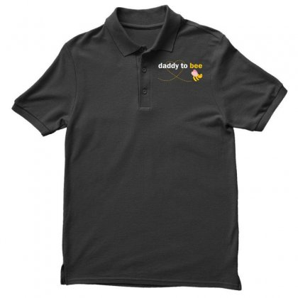 Daddy To Bee Men's Polo Shirt Designed By Designbysebastian