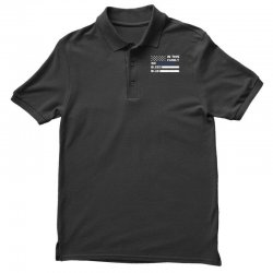in this family we bleed blue funny Polo Shirt | Artistshot