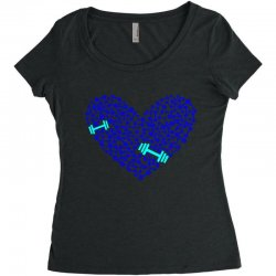 love gym Women's Triblend Scoop T-shirt | Artistshot