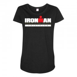 ironman triathlon world championships Maternity Scoop Neck T-shirt | Artistshot