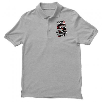 Persona 5 Men's Polo Shirt Designed By Vr46
