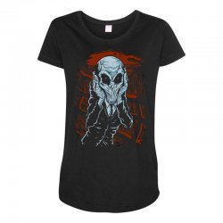 a scream of silence Maternity Scoop Neck T-shirt | Artistshot