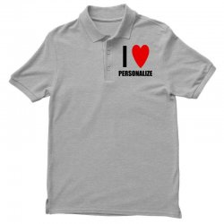 i love personalize Polo Shirt | Artistshot