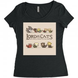 Lord Of The Cats Women's Triblend Scoop T-shirt | Artistshot