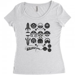 Out Space Women's Triblend Scoop T-shirt | Artistshot
