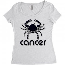 cancer Women's Triblend Scoop T-shirt | Artistshot