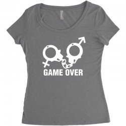 love game Women's Triblend Scoop T-shirt | Artistshot