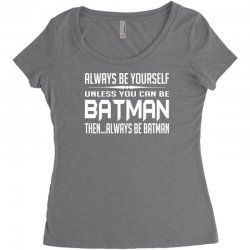 funny batman Women's Triblend Scoop T-shirt | Artistshot