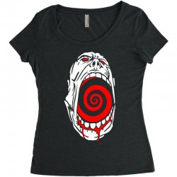 screaming face Women's Triblend Scoop T-shirt | Artistshot