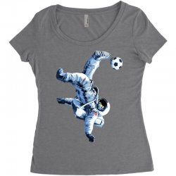 """buzz aldrin"" always sounded like a sports name Women's Triblend Scoop T-shirt 