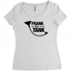 frank the tank Women's Triblend Scoop T-shirt | Artistshot