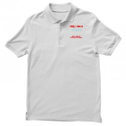 yes i am a firefighter Polo Shirt | Artistshot