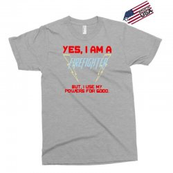 yes i am a firefighter Exclusive T-shirt | Artistshot