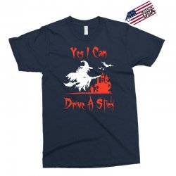 yes i can drive a stick Exclusive T-shirt | Artistshot