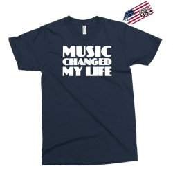 music changed my life Exclusive T-shirt | Artistshot