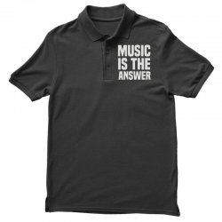 music is the answer Polo Shirt | Artistshot