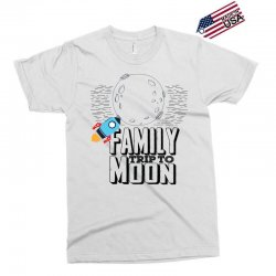 Family Trip To Moon Exclusive T-shirt   Artistshot