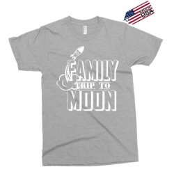 Family Trip To Moon Exclusive T-shirt | Artistshot