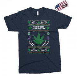 smoke weed ugly sweater Exclusive T-shirt | Artistshot