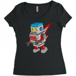dub politics bot Women's Triblend Scoop T-shirt | Artistshot