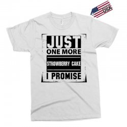 d02d3009d Custom Just One More Strowberry Cake I Promise All Over Men s T ...